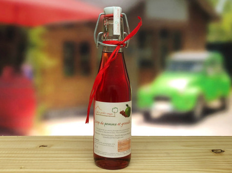 Les Perles Rouges - Sirop Duo Pomme-groseille Rouge