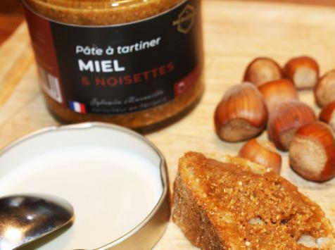 Merveille Apiculture - Pâte À Tartiner Miel & Noisettes