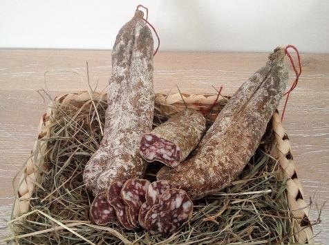 Ferme AOZTEIA - Saucisson Fermier De Porc Basque Kintoa