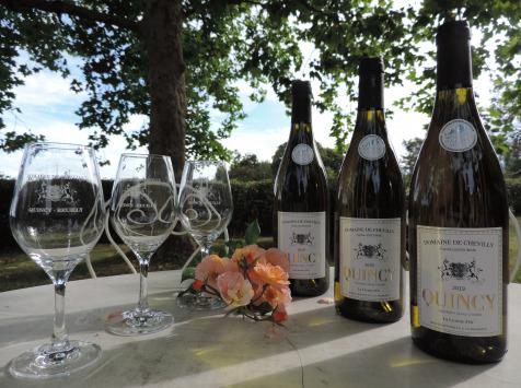 Domaine de Chevilly - AOC Quincy - La Licorne d'Or - 3 Bouteilles