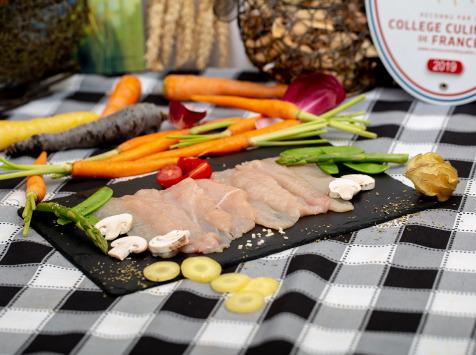 La ferme Grandvillain - Filets de Pintade Fermière -  Tranches Fines - Découpes Nature - 200 G