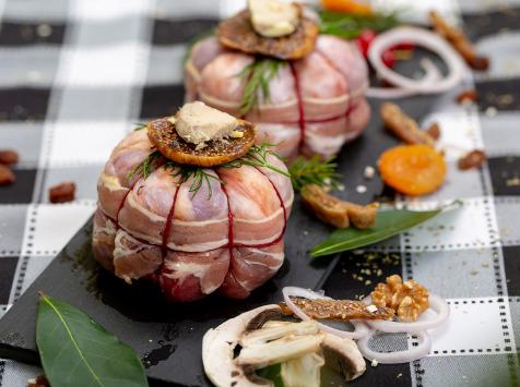La ferme Grandvillain - Paupiettes De Chapon Farci - Foie-gras & Figues - 2 X 250 G