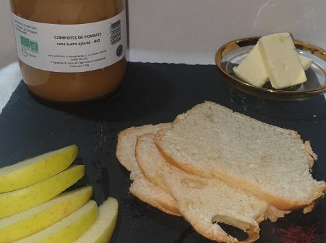 La Ferme du Montet - Compote Pomme - bio - sans sucre ajouté