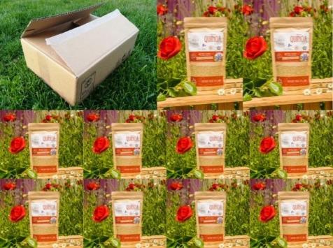 Sa Majesté la Graine - Quinoa Blanc du Berry - 10 X 240 G