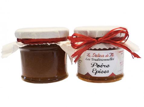 Fromagerie Seigneuret - Confiture De Poire Épices