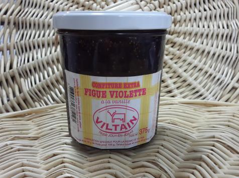 La Ferme de Viltain - Confiture Extra Figue Violette À La Vanille