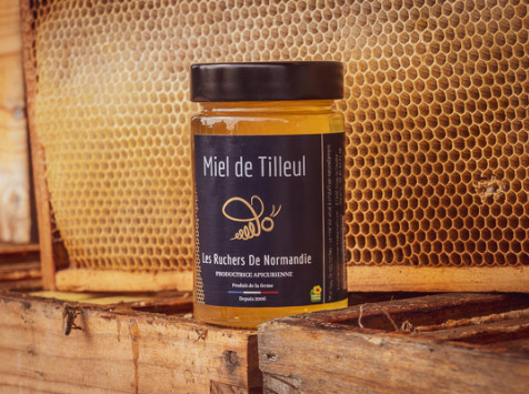 Les Ruchers de Normandie - Miel de Tilleul liquide 250g