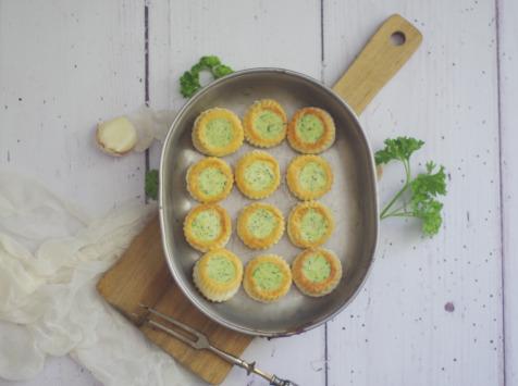 Limero l'Escargot Mayennais - Assiette De 12 Mini Bouchées D'escargots Gros Gris Frais Garnies Au Beurre Bourguignon - Lot de 2
