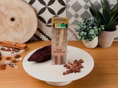 Le Petit Atelier - Sucette À Chocolat Chaud Lait Bio