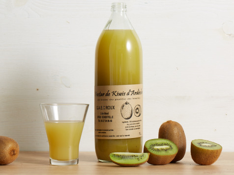 GAEC Roux - Coffret Nectar de Kiwis d'Ardèche - 6 x 1 l