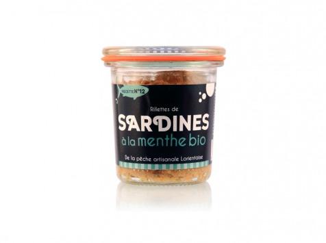 Conserverie artisanale de Keroman - Rillettes De Sardines À La Menthe Bio