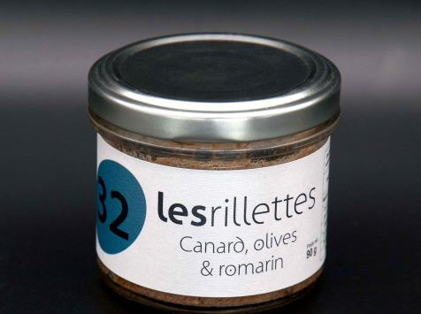 Secrets de Famille - Rillettes de Canard Olives Vertes et Romarin