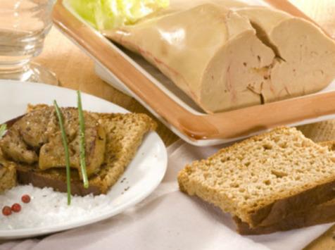 Ferme Caussanel - Foie Gras 2ème Choix Eveiné 520g