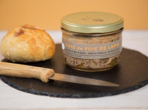 Ferme du Bois de Boulle - Pâté de foie de lapin