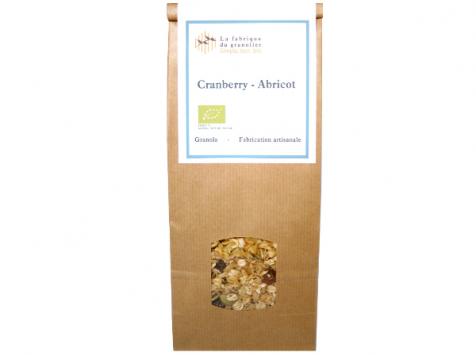 La fabrique du granolier - Sachet Granola Cranberry-abricot