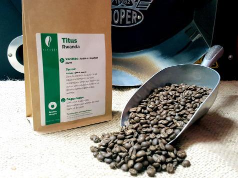 Brûlerie de Melun-Maison Anbassa - Café Titus-rwanda - Mouture Fine - Espresso