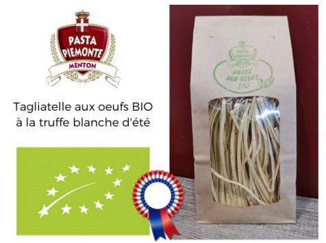 PASTA PIEMONTE - Pates Aux Oeufs Traditionnelles Bio Fait Main A' La Truffe Blanche D'ete