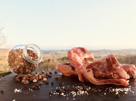Du bio dans l'assiette - [Précommande] Côtes Tranchées Agneau Fermier Bio 1kg