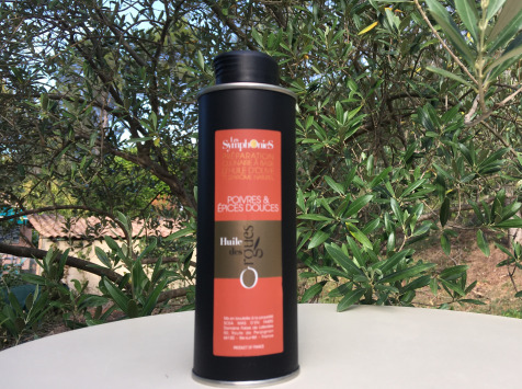 Huile des Orgues - Huile d'olive Vierge Extra aux Notes Poivrées - 250 ml