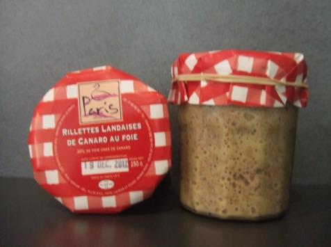 Maison Paris - Foie Gras depuis 1907 - Rillettes Landaises Au Foie De Canard En Pot