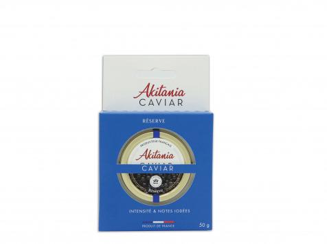 Akitania, Caviar d'Aquitaine - Caviar D'aquitaine Akitania Reserve Rodoide Carton 50g