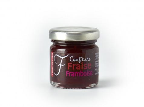 La Fraiseraie - Confiture Fraise-Framboise 45g
