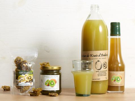 GAEC Roux - Coffret Kiwi d'Ardèche - 4 produits
