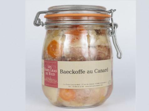 Les foies gras du Ried - Baeckehoffe Au Canard