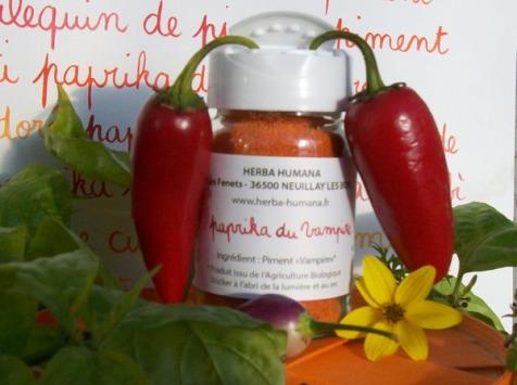 HERBA HUMANA - Paprika Du Vampire Cultivé en France 30g