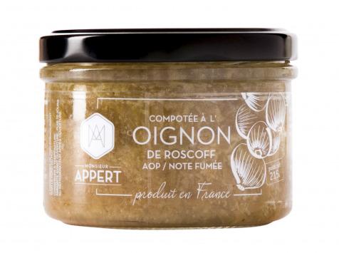 Monsieur Appert - Oignon Rosé De Roscoff Aop/note Fumée