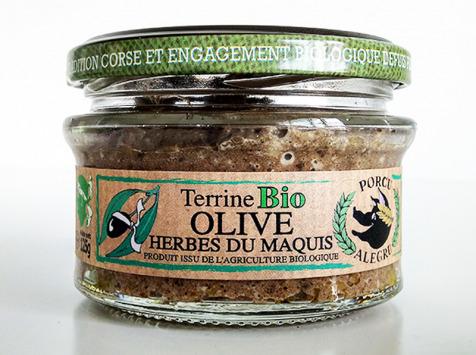 Jean-Paul Vincensini et Fils - Terrine de Porc à L'olive/Herbes du Maquis Bio
