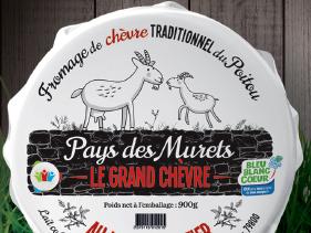 Fromagerie du Pays des Murets - Le «Grand Chèvre» au lait cru