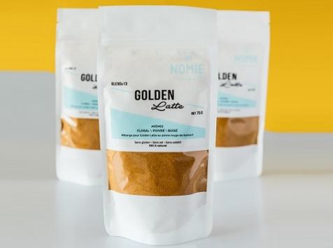 Nomie, le goût des épices - Golden Latte. Mélange Pour Golden Latte Au Poivre Rouge De Kampot