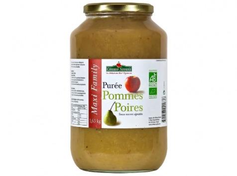 Les Côteaux Nantais - Purée Pommes Poires 1,65 Kg