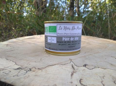 Le Noir du Picou Elodie Ribas - Pâté de Tête de Porc Gascon Bio