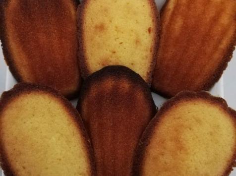 Les Cannelés d'Audrey - Madeleines Sans Gluten Au Miel Et Citron