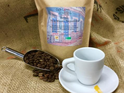Café Loren - Café De Brésil - Saquarema Bio Mouture Moyenne