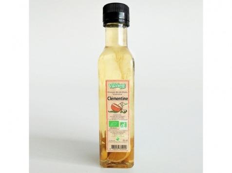 Jean-Paul Vincensini et Fils - Vinaigre de Vin Blanc Aromatisé à La Clementine Bio