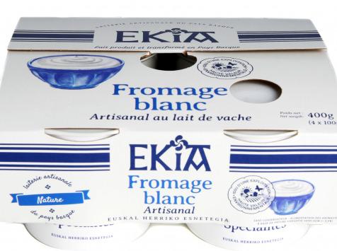 BASTIDARRA - Fromage Blanc Nature 4*100 Gr