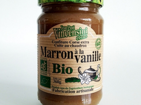 Jean-Paul Vincensini et Fils - Crème de Marron Vanillée Bio
