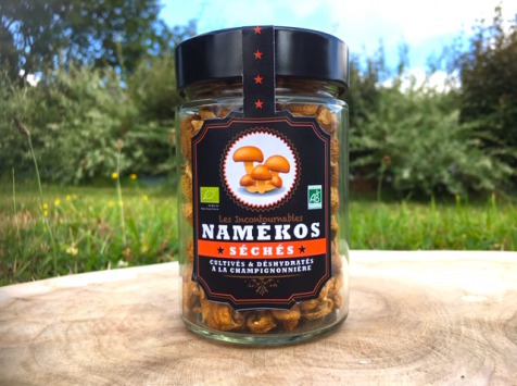 Les champignons du Loc'h - Namékos Bio séchés - 25g