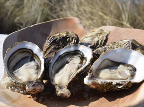 Huître de Normandie - Huîtres Spéciales No.2 Demoiselles D'agon© - 12 Pièces