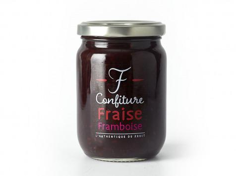 La Fraiseraie - Confiture Fraise-framboise 325g