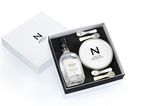 Caviar de Neuvic - Coffret Vodka/caviar