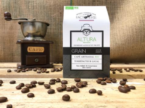 Cafés Factorerie - Café Mexique Altura Bio Grains - 250g
