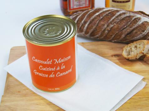 A la Truffe du Périgord - Boite Cassoulet Maison Cuisiné À La Graisse De Canard