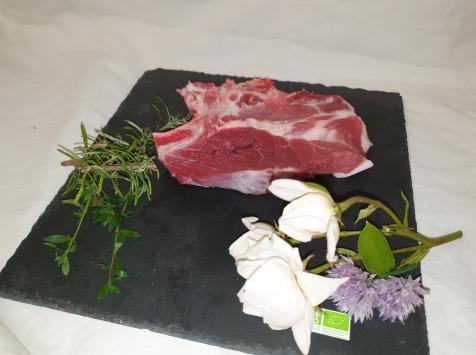 La Ferme du Montet - [SURGELÉ] Côtes de Porc Noir Gascon BIO - 200 g