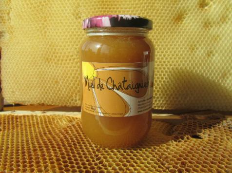 Miel et Pollen - Miel De Chataignier 375g