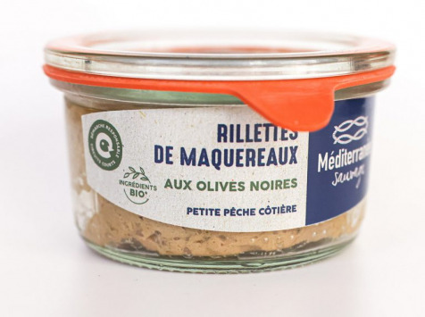 Méditerranée Sauvage - Rillettes de Maquereaux aux olives noires