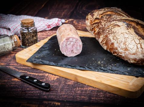 La Ferme du Mas Laborie - Saucisson cuit à l'ail - 500 g